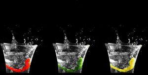 Wasser ist wichtig für ein erfolgreiches Abnehmen und beim Sport.