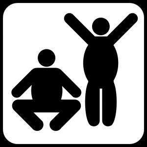Fett muss nicht ungesund sein. So kann man mit einem BMI von 25,5 bei regelmäßigen Sportprogramm die höchste Lebenserwartung erreichen.