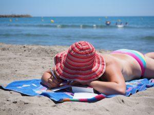 Auch im Urlaub sollte man sich nicht zuviel vornehmen und lieber mal entspannen und relaxen.