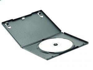 Das Volumen von 3 DVD-Hüllen entspricht in etwa der Hälfte einer Mahlzeit.
