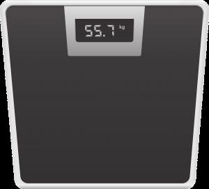 Eine Körperfettwaage misst nicht nur das Gewicht, sondern gibt auch kann wie es sich verteilt.