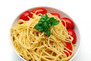 Bei der Pritkin Diät werden verstärkt Kohlenhydrate mit der Nahrung aufgenommen in Form von Nudeln, Kartoffeln, Reis, Vollkornprodukten etc.