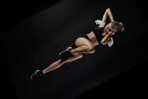 Eine Körperanalyse gibt Auskunft über das Trainingslevel und Fortschritte.