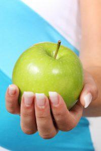 Eine gesunde Ernährung ist wichtig zum abnehmen.