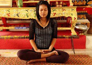Entspanntes Atmen kann man erlernen.