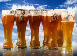 Bier-Diät, wer auf Bier verzichtet spart viele Kalorien ein.