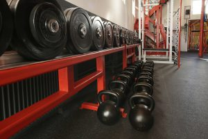 Durch verschiedene Gewichte und Gewichtsarten kann man für Abwechslung sorgen beim Krafttraining.