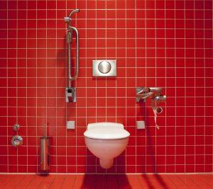 Brechdurchfall führt zum häufigen Aufsuchen der Toilette.