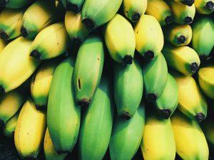 Banaen sollte man möglichst nicht grün verzehren, dieses kann zu Verdauungsproblemen führen.