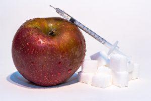 Insulin bestimmt wo aufgenommen Kalorien landen.