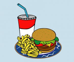 Zuckerhaltige Getränke bremsen die Fettverbrennung. Cola mit Burger sind nicht nur kalorienhaltig, sondern bremsen auch die Fettverbrennung aus.