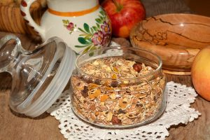 Müsli ist die gesunde Alternative zu Cornflakes.