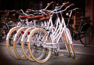 Abspecken durch Radfahren ist möglich.