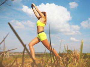 Fitness im Freien schärft die Sinne.