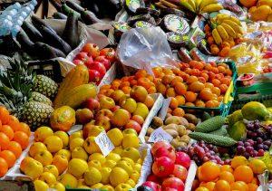 Die Farben ermöglichen Rückschlüsse auf die enthaltenen Wirkstoffe bei Obst und Gemüse.