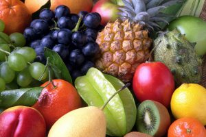 Obst wird vor allem frisch verzehrt.