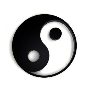 Bei der Makrobiotische Diät steht der Einklang der beiden Energien Ying und Yang im Vordergrund.