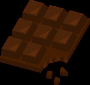 Schokolade ist während der Diät erlaubt und hebt die Stimmung.