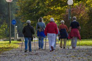 Durch Walking können viele Kalorien verbrannt werden und die Kondition gestärkt werden.