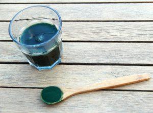 Die Spirulina-Algen wird gern bei Diäten genutzt.