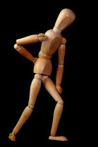 Ein verklemmter Nerv ist schmerzhaft und kann durch Übergewicht ausgelöst werden.