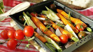 Gegartes Gemüse und Fleisch sollte bevorzugt werden.