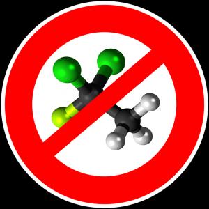 Ozon enthält 3 Sauerstoff-Atome und sollte gemieden werden.