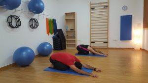 Die Yoga-Übung Kind