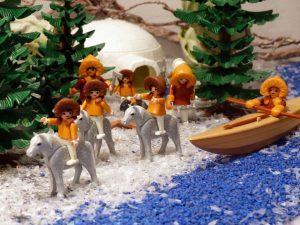Eine Ernährung wie der Eskimos kann beim Abspecken helfen.