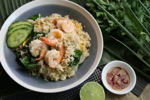 Reis macht satt und fördert den Stoffwechsel.