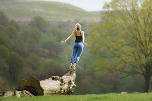 Für ein gesundes Leben sind die richtige Ernährung und Bewegung maßgebend.