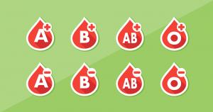 Die Blutgruppe ist entscheidend bei der Bluttransfusion.
