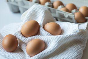 Eier sind reich an lebenswichtigen Nährstoffen.