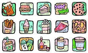 Auf ungesunde Lebensmittel sollte man nicht nur während einer Diät verzichten.