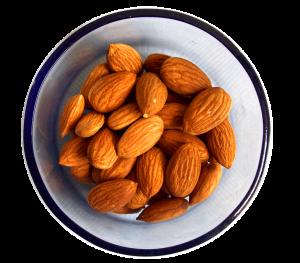 Mandeln senken den Hunger und das Cholesterin und sind so in mehrfacher Hinsicht gesund.