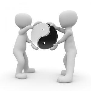 Bei der Ying-Yang-Diät achtet man auf ein ausgeglichenes Verhältnis von Ying und Yang, also von Kälte und Wärme bei der Ernährung.