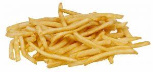 Auf gesättigte Fette und Transfette wie in Pommes, Chips gilt es zu verzichten.