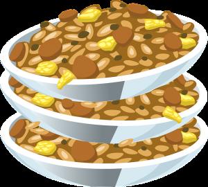 Eine dauerhafte Ernährung nur mit Bohnen und Reis ist einseitig und kann zu Mangelerscheinungen und Verdauungsproblemen führen, auch die Stimmung leidet hierunter.