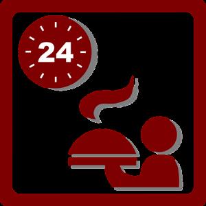 Bei der OMAD-Diät wird nur an einer von 24 Stunden am Tag gegessen.