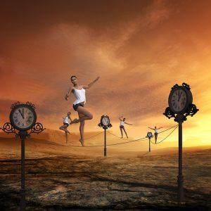 Sport kann beim Stressabbau helfen.