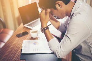 Konzentrationsstörungen sind typisch für Burnout.