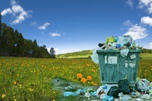 Umweltbewusst einkaufen und Müll einsparen.