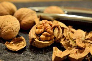 Nüsse sind als gesunder Snack bei der Eiweiß-Diät erlaubt.