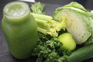 Grüne Smoothies bieten sich für eine Detox-Diät an.