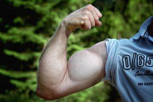Die Diät legt Wert auf optimalen Muskelzuwachs.